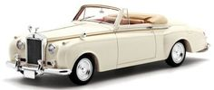 ROLLS ROYCE SILVER CLOUD I 1959 TWO SEATER DROPHEAD JAMES YOUNG CREAM SCALE 1/43 TSM