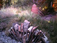 More stone work by Mariposa Gardening & Design.