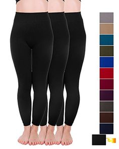 38f8e6873b88e Homma 3 Pack Extra-Thick French Terry Thermal Leggings. Thermal LeggingsWarm  SweatersColor FashionPants For WomenFrench ...