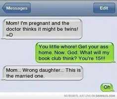 Text Messages That Will Make You Laugh Out Loud - . 46 Funny Text Messages That Will Make You Laugh Out Loud - 46 Funny Text Messages That Will Make You Laugh Out Loud - Despite being intelligent as individuals, you're truly harebrained collectively. Funny Text Messages Fails, Text Message Fails, Funny Texts Jokes, Text Jokes, Funny Quotes, Epic Texts, Funny Pranks, Drunk Texts, Awkward Text Messages