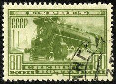 CCCP locomotive