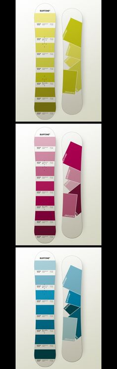 Pantone Snowboard Concept by Oliver Wrobel