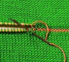 Соединение вязаных деталей1