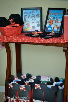 "Photo 1 of 14: Mickey and Minnie / Birthday ""Mickey and Minnie 1st Birthday""   Catch My Party"
