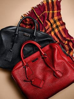 New additions to the Burberry A/W13 men's accessories collection