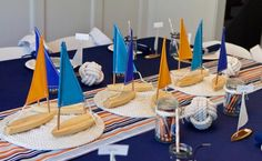 A totally awesome Vintage Nautical themed birthday party one of our fabulous customers threw for her husband.