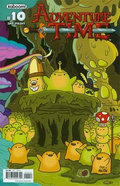 Adventure Time #10 Cover F 2nd Ptg Connecting Cover