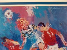LeRoy Neiman...TAMPA BAY ROWDIES Tampa Bay Rowdies, Leroy Neiman, Sports Photos, Sports Art, Color Stories, Figure Drawing, Soccer, Portraits, Artists