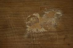 Cubrimos las imperfecciones de la madera vieja.