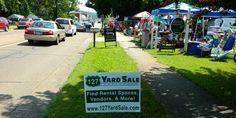 Rt 127 Yard Sale 'World's Longest Yard Sale' runs 4 days over a 100 mile span of Rt 127, Michigan to Alabama.