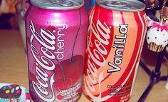 Cherry and Vanilla Coke. <3