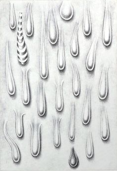 "Saatchi Online Artist Michelangelo Janigro; Drawing, ""Contagious drops"" #art"