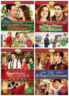 I love all the Hallmark Channel Christmas Movies!!   Nine Lives for Christmas, A Royal Christmas, A Cookie Cutter Christmas and Signed, Sealed Delivered for Christmas