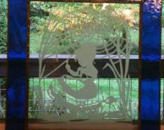 Handmade grape motif sandblasted and beveled leaded glass Leaded Glass, Beveled Glass, Wine Cellar, Custom Framing, Window, Gallery, Frame, Artist, Artwork