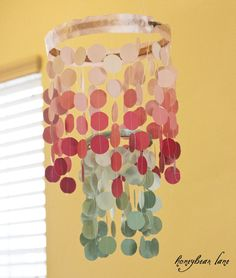 Paintchip Chandelier!