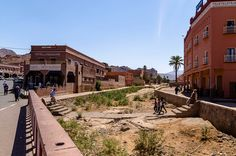 The little town of Tafraout, located in the Anti-Atlas - 5k inhabitants (Morocco)