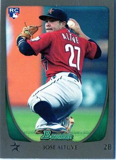 2011 Bowman Jose Altuve GOLD Rookie Card Houston Astros #HoustonAstros