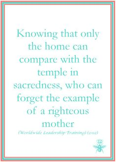 Queen Bee Academy {free LDS prints} | the example of a righteous mother