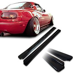 Mazda Miata NA MX5 Feed Underline Style Urethane Side Skirt Extensions For 9097 Models ** Check this awesome product by going to the affiliate link Amazon.com at the image.