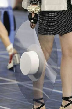 Cool hat from Chanel