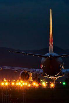 Avião...