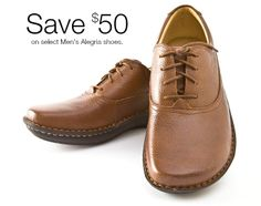 Great time to save on select Men's Alegria shoes! | Alegria Shoe Shop #AlegriaShoes #Mens #Sale