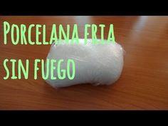 Como hacer Porcelana Fría casera (RECETA FÁCIL) // Cold porcelain recipe - YouTube                                                                                                                                                                                 Más