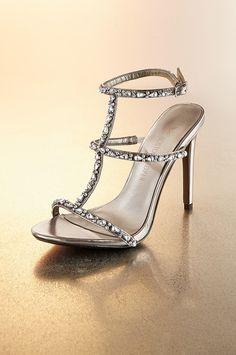 Boston Proper Jeweled t-strap sandal #bostonproper