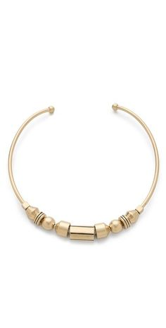 Madewell gold Geo Collar Necklace on Shopbop