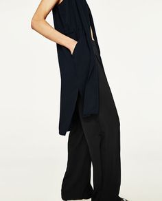 Image 6 of LONG WAISTCOAT from Zara