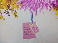 Hoe voel je je nu?  www.info-zin.nl | www.facebook.com/info.zin