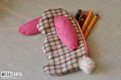 bunny pencil case, пенал, megatanya, pencase