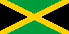 Jamaica flag is divided in 4 equal parts green and 2 black) by golden stripes. Jamaican flag colors, meaning and history. old Jamaica flag images. Flags Of The World, Countries Of The World, Bob Marley, Albania, Commonwealth, Jamaica Country, Jamaica National, Francois Feldman, World Maps