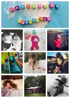 #CapturingChildhood - my favorite Instagram hashtag to help remember the moments that matter