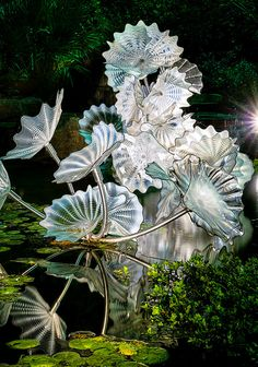 Another Chihuly glass art installation