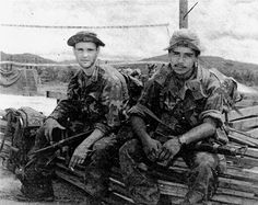 K Company, 75th Rangers LRRPs and their gear ~ Vietnam War