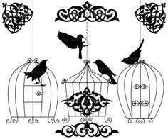 Popular items for bird clipart on Etsy