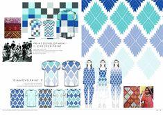Fashion flats on spread