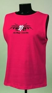 Sterling Marlin Nascar Racing Ladies Tank Top by RacingGifts. $25.50. Sterling Marlin Red Chase Authentic Ladies Tank Top. Show off your racing pride with our Authentic Chase Cotton Tank Top. Features the team colors, and driver number. Reinforced stitching in key areas, for durablity. Some sizes may be sold out.