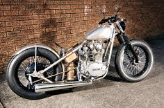 Thors Hammer Yamaha XS650 Bobber by inmotionphotography, via Flickr