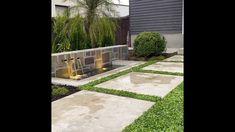 Plant Tiles of Dichondra repens Water Features, Tiles, Sidewalk, Australia, Patio, Landscape, Garden, Outdoor Decor, Plants