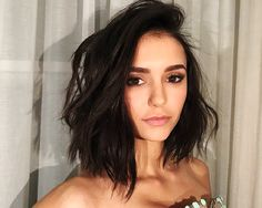 Short hair. Don't care. New year. New Do(brev). Jan 10th 2016 Nina Dobrev