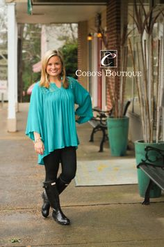 GORGEOUS is the word we come up with when we see this top! We got this top in last friday and they have been flying out of the door! Get them before they are gone!  call 601.591.4111 to order! We are open until 6pm!