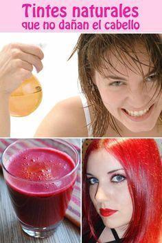 Tintes naturales que no dañan el cabello