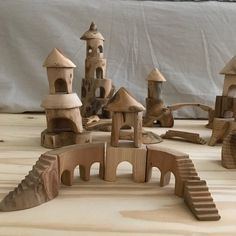 Browse unique items from tzatzastudio on Etsy, a global marketplace of handmade, vintage and creative goods. Wooden Hand, Wooden Diy, Wooden Staff, Wooden Castle, Handmade Wooden Toys, Small Wood Projects, Different Types Of Wood, Wooden Blocks, Wood Toys