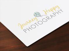 Journey Happy Photography logo by PylesDesign • www.pylesdesign.net