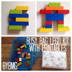 bybmg: Tuesday Talk: Busy Bag Lego Kit with Printable Pat...