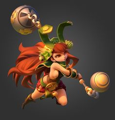 ArtStation - game art gunner and warrior In The Three Kingdoms, Shiwei Li