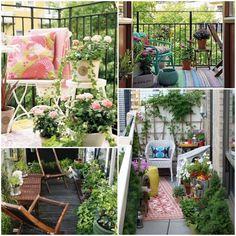 Balkon, taras, loggia - niezwykłe aranżacje z miejscem do relaksu