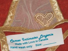 YAY! Cameo Intimates lingerie - back from the dead, resurfaced on Ebay!